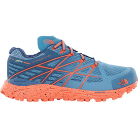 The North Face Ultra Endurance GTX Running Trail Shoes Ladies Provincial Blue/NasturtiumOrange